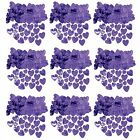 Purple Love Heart Foiletti Confetti - Great Wedding Table Decoration