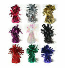 12 x Frilly Metallic Balloon Weights - Wedding, Party, Event, Christmas