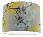 30cm Lampshade Handmade with Laura Ashley Millwood Trufflle Camomile Wallpaper