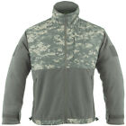 TACTICAL PATROL WARM MENS FLEECE POLAR JACKET HIKING CAMPING ACU DIGITAL CAMO