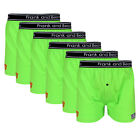 6 x FRANK AND BEANS BOXER SHORTS MENS UNDERWEAR ALL SIZES GREEN