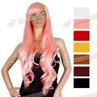 SEXY WOMENS FASHION WIGS LONG CURLY FRINGE LADY WIG VOGUE WIGS-7 COLOURS UK SHIP