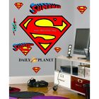 Choose size: Superman Logo Wall Sticker Decal Mural Decor ART 4 Kids GAME GIFT