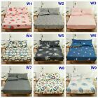 Floral Fitted Sheet or 2 x Pillowcases 100% Cotton King Queen Size Bed Linen
