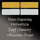 Engraved Trophy Plates - Picture Plates - Trophy Plaques - Trophies & Engraving