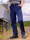 Mens Cargo Trousers. 31.5 to 44 Waist. Regular + Long Leg. Tough durable fabric.