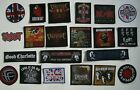 Band Patches NEW pistols mod who rock punk slipknot ac/dc bullet day roses foo