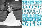 Personalised Wedding Thank You Cards **Any Theme**