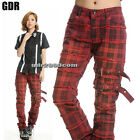 PUNK VISUAL KEI SLIM LOOK MUMMY 71230 RED PANTS size S-XL