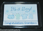 Its a Boy - Its a Girl - Grandma - Grandpa - Auntie - Uncle - Baby - New Born -