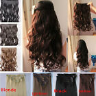 QUALITY NEW 8PCS FULL HEAD WITH CLIPS IN HAIR EXTENSIONS FOR 2014 WOMEN FAVORED