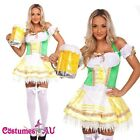 Ladies Oktoberfes Costume Wench Beer Maid Gretchen German Heidi Fancy Dress Up