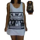 Unisex NWA Vest Tank Top Singlet Dress Sleeveless T-Shirt