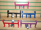NEW SHIRES HANDY HANGER OVER DOOR HOOKS - STABLE SHED GARAGE ETC! MANY COLOURS