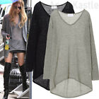 AnnaKastle New Womens See Through Mohair Knit Long Sweater Jumper Top S - M AU