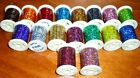 Holographic Tinsels on Spools 18 Colours available
