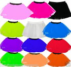 GIRLS NEON TUTU SKIRT FANCY DRESS