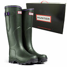 *NEW* Hunter Balmoral LADY NEOPRENE Classic Dark Olive Wellington Boots Wellies