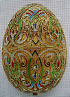 "Needlepoint canvas ""Easter egg with Royal design"""