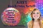 Disco Party Invites Invitations