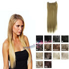 """Invisi-hairpiece 22"""" extension single strip on wire Various colours available"""