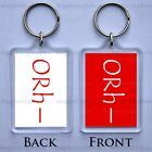 BLOOD TYPE GROUP KEYRING A+ 0+ B+ AB+ A- 0- B- AB- KEYCHAIN - 16 DESIGNS - GIFT
