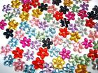 90 Acrylic Rhinestone 10mm Craft Flower Jewel/bow/sewing/Sew On E8-Select Color