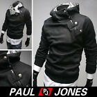NEW Mens casual Tracksuit Top Designed Casual Hoody Coat Jacket Hooded Outerwear