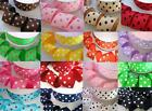 "50 yard Spool Grosgrain Polka Dot 1.5"" Ribbon/Polyester/Wholesale/Craft R20-Roll"