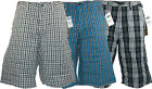 MENS / YOUTHS VANS HEDGE CHECK SHORTS ABOVE KNEE (SURF SWIMMING BEACH SPORTS) A2