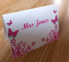 Personalised Vintage Wedding Place Cards