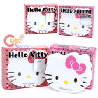 Sanrio Hllo Kitty Face Premium Eraser Set  2pc Red Bow and Pink Bow
