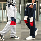 Men's Casual Baggy Trainning Jogging Sweat Pants Korean Sport Dance Trousers