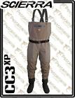 Scierra CC3 XP breathable wader 3 layers stocking foot spinning fly fishing