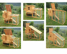 CHICKEN COOP POULTRY ARK HOME NEST RUN COUP - 8FT MODELS HEN HOUSE