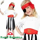 Childrens Pirate Fancy Dress Costume Boys Girls outfit