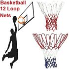 Heavy Duty Nylon Replacement Basketball Hoop Spare 12 Loop Backboard Netting NEW