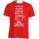 Kimi Raikkonen Soft Fitted T-shirt Leave Me Alone T Shirt F1 GP S M L XL Funny