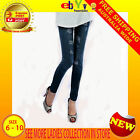 Sexy Womens Ripped Blue Jeans Look Hosiery Legging Tights Fashion Pant Sz 6 8 10