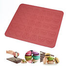 Silicone 30-cavity Macaron Macaroon Pastry cake Oven Baking Mould Sheet LC950
