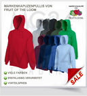 Fruit of the Loom Kapuzen Pulli Kapuzensweatshirt Hoodie NEU 2017 SALE