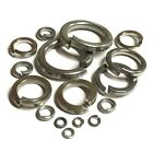 Spring Washers A2 Stainless - Square Section - M2 M2.5 M3 M4 M5 M6 M8 M10 M12
