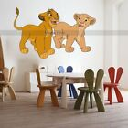 LION KING WALL STICKER SIMBA & NALA Removable KIDS COOL DISNEY DECAL HOME ATR