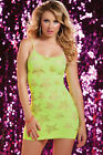 Star Struck Cut Out Yellow Dress Seamless STM-9702 Ladies Party Costume 7TilMid