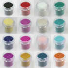 16 Colors 10ml Nail Art Beads Glitter Tiny Pearls for Caviar Manicure Decoration
