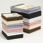 200 Thread Count Egyptian Cotton Flat Bed Sheets Single Double King Superking