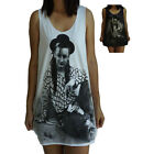 Unisex Boy George Vest Tank Top Singlet T-Shirt Sleeveless T-Shirt Dress