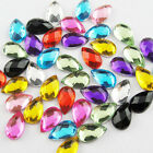 4mm 5mm 8mm Mixed Waterdrop Flatback Faceted Rhinestone Scrapbooking DIY Craft