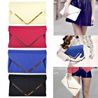 PU Leather Style Large Clutch Bag Evening Party Prom Bridal Bag Handbag Purse