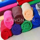Microfiber Towel Soft Fast Drying Bath Travel Beauty Gym Camping Sports 35x75cm